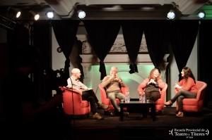 Primera entrevista: Romina Mazzadi Arro, Mónica Martínez y Jorge Ferrucci con Damián Schwasrzstein.