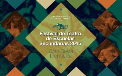 7° Festival de Teatro de Escuelas Secundarias – 2015