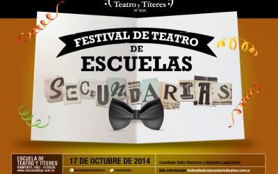 6º Festival de Teatro de Escuelas Secundarias – 2014